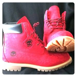 Red Timberland Boots (Limited Edition)